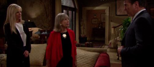 Ashley and Jack don't know Dina is on the loose in Genoa City. (Image via The Young and the Restless channel Youtube).