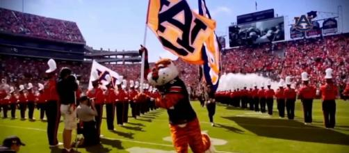 Auburn is making a run at No. 1. [Image via red Turtle Productions/YouTube]