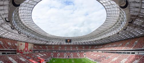 Estadio Luzhniki, sede inaugural
