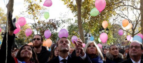 Hidalgo et Macron rendent hommage aux victimes du 13 novembre - Le ... - leparisien.fr