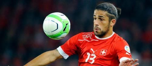 Il milanista Ricardo Rodriguez, grande protagonista della qualficazione ai Mondiali 2018 della Svizzera
