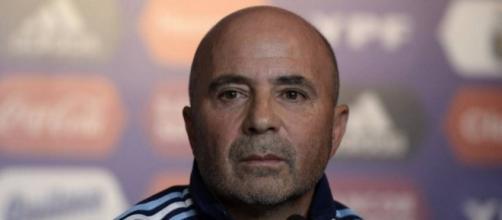 Jorge Sampaoli, DT del seleccionado nacional