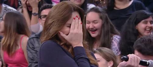 Laura mais uma vez foi pega de surpresa ( Reprodução - Rede Globo )