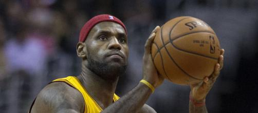 LeBron James is reportedly set on joining Lakers in 2018. (Image Credit: Keith Allison/WikiCommons)