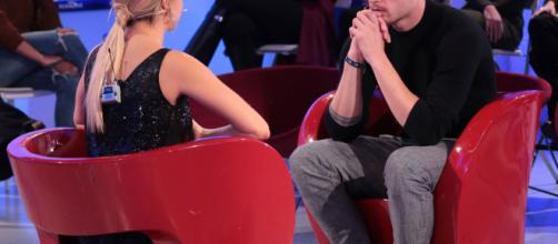 Sabrina Ghio con Nicolò Raniolo al momento della scelta