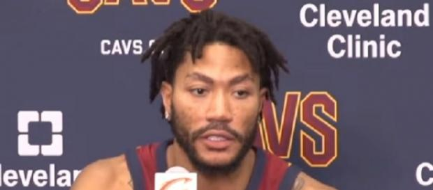 Derrick Rose said he returned from his ankle injury too soon. (Image Credit: cleveland.com/YouTube)