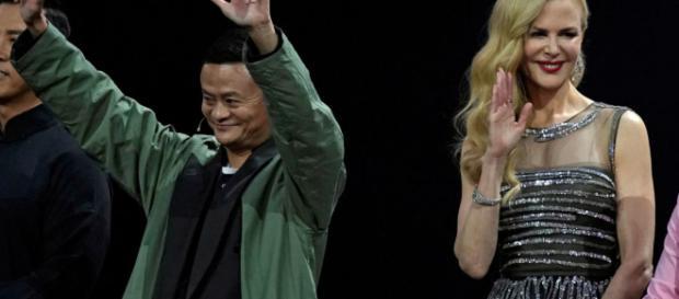 Evento di gala per il Single Day con Jack Ma e Nicole Kidman
