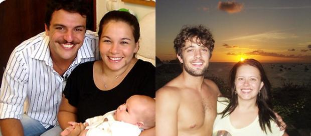 Famosos brasileiros e suas mulheres