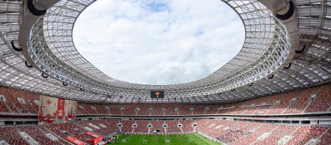 Los estadios del mundial de Rusia 2018