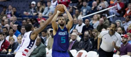 Nicolas Batum is set to make his season debut on Wednesday for the Hornets. (Image via: Keith Allison/Flickr)