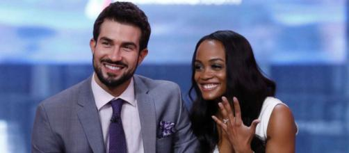 Bachelorette Rachel Lindsay with Bryan from screenshot