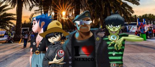 Gorillaz se presentará México durante el Vive Latino 2018