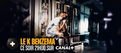 Karim Benzema a vidé son sac dans l'émission Canal Football Club (Canal +).