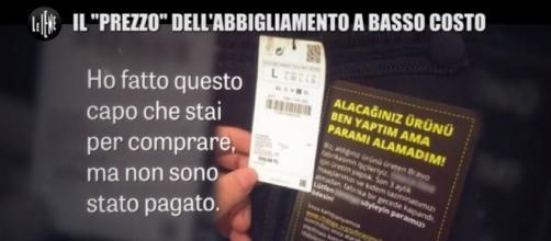 Le Iene, il marchio italiano di abbigliamento che sfrutta i bambini