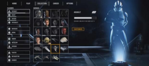 A screenshot from 'Star Wars Battlefront 2' - YouTube/jackfrags