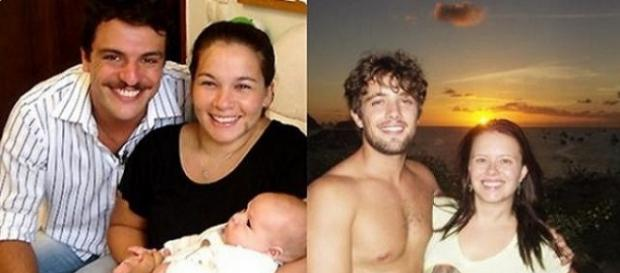 Atores brasileiros com suas respectivas esposas