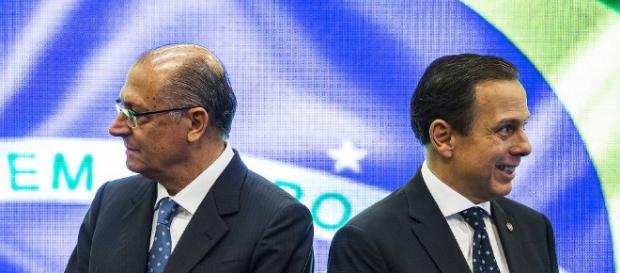 Doria e Alckmin tentam de todas formas mostrar união