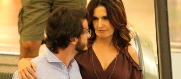 Fátima Bernardes não comparece ao aniversário do namorado