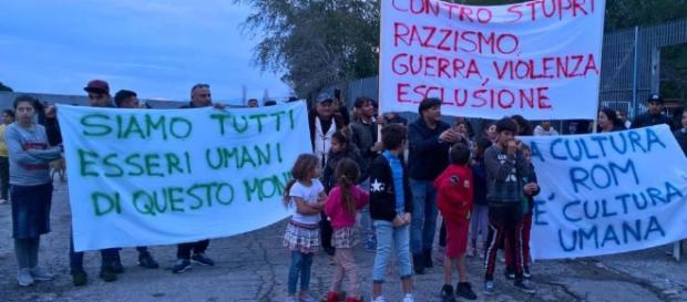 Il palazzo occupato da 14 famiglie rom in via dei Lauri a ... - nextquotidiano.it