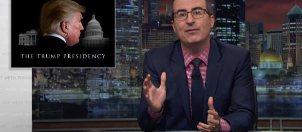 John Oliver takes on Trump again Image credits: Last Week Tonight with John Oliver/YouTube Screencap
