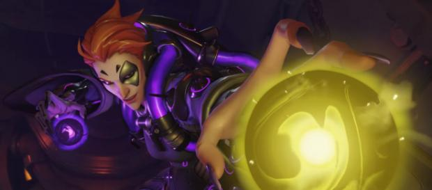 Overwatch Moira released, Mercy nerfed, and other changes (Image Credit: PlayOverwatch/YouTube screencap)
