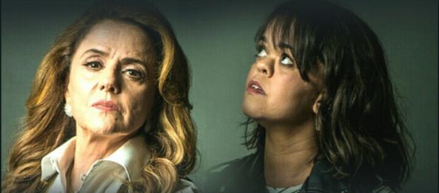 Sophia e Estela em novela da Globo