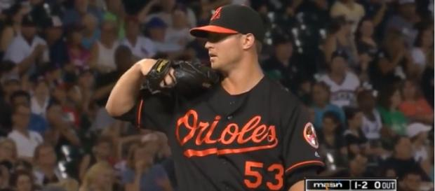 Zach Britton is reportedly on the trade block - image - MVPFLF/Youtube