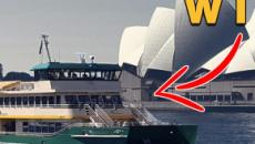 Sydney ferry gets ridiculous name after public poll