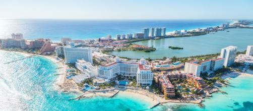 Cancun, Messico - affaccio sul Mar dei Caraibi