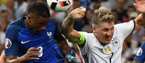 L'équipe de France défie l'Allemagne