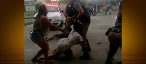 PM acusada de agredir populares em Minas Gerais