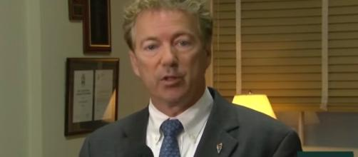 Rand Paul has been miserable since his attack from behind. - [Rand Paul / YouTube screencap]