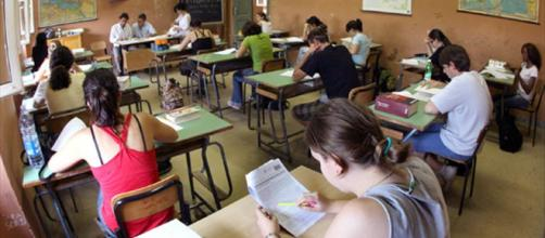 Studenti in una scuola italiana