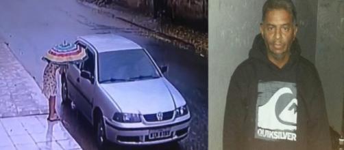 Suspeito do sequestro da menina Thayná presta depoimento