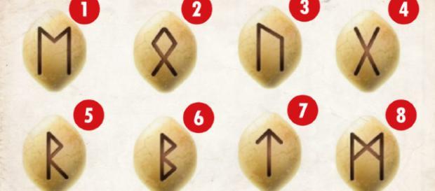 Escolha a runa de acordo com seu pensamento