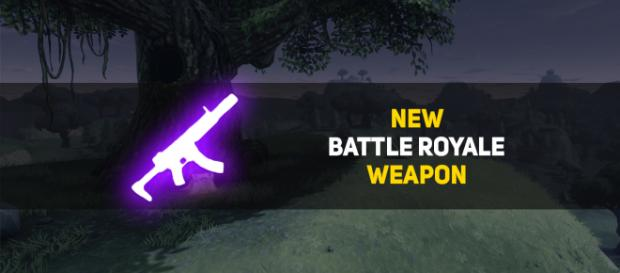 """Fornite"" Battle Royale is getting a new weapon! Image Credit: Own work"