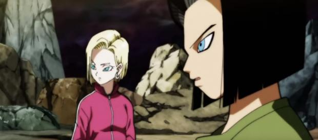 Fusion between Android 17 & Android 18? [Image via LAiBGaming/YouTube screencap]