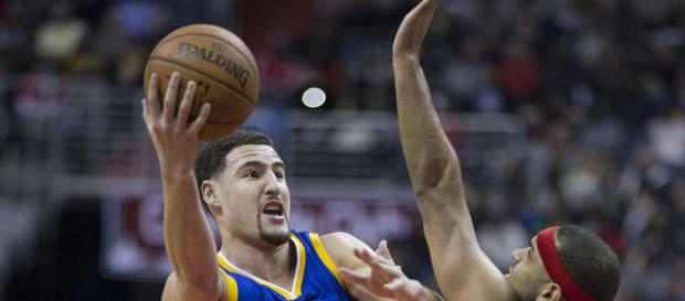 Klay Thompson is averaging 21.1 points, 3.8 rebounds and 2.6 assists this season (Image Credit: Keith Allison/WikiCommons)