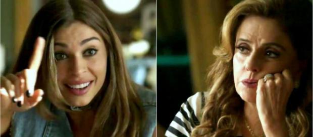 Lívia e Sophia armarão para roubar bebê de Clara