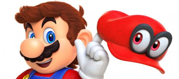 Nintendo Switch Holiday Mario Odyssey - GamersBliss - gamersbliss.com