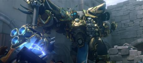 """New """"Overwatch"""" animated short features Reinhardt. (Image Credit: Blizzard Entertainment/Youtube screencap)"""