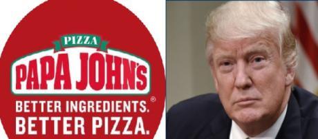 Papa John's, Donald Trump, via Twitter