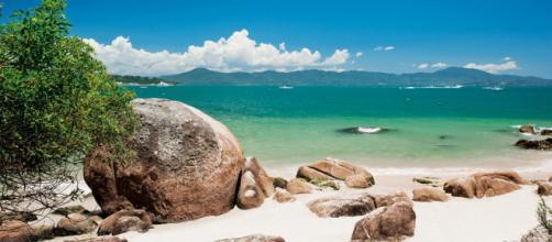 Playa de Jureré en Florianópolis