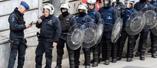 Brussels sees its second major disturbance in less than 4 days.