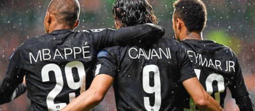 Celtic-PSG (0-5) : le trio Mbappé, Cavani, Neymar envoie un ... - matiastanea.gr