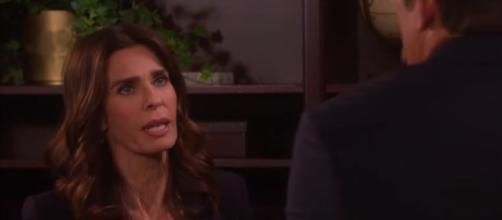 Days of our Lives' Hope Brady. (Image Credit: NBC/YouTube screengrab)