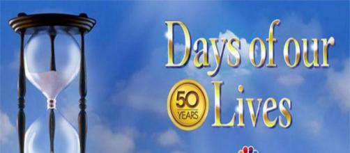 Days Of Our Lives' logo. [Image via NBC/YouTube screencap]