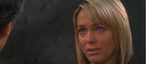 Days of our Lives' Nicole Walker. (Image via YouTube screengrab/NBC)