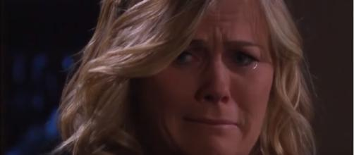 Days of our Lives' Sami Brady. (Image Credit: NBC/YouTube screengrab)
