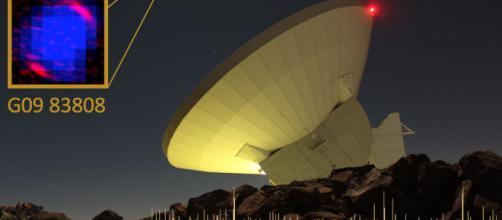 """El Telescopio Milimétrico """"Alfonso Serrano"""" logró medir la distancia a la que está ubicada la galaxia G09 83808: 27 mil 500 millones de años luz"""